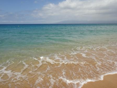 カイルアの穏やかな海