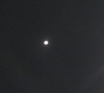 皆既月食の観測 & 立春を迎えるための準備期間☆