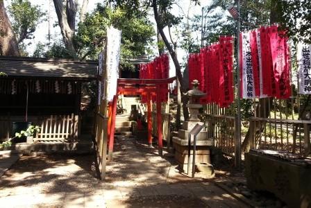 代々木八幡神社: 仕事運アップには出世稲荷へ