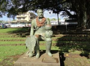カラカウア王像1