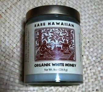 白いハチミツ:『Rare Hawaiian Organic White Honey』