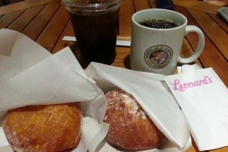 ハワイの朝食 7: Honolulu Coffee と Renard's