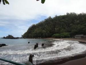 マウイ島ハナ湾カウイキ
