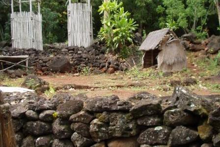 ハワイの聖地: ハレ・オ・ロノ・ヘイアウ