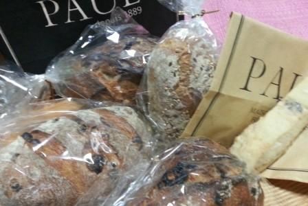 パンが大好き:「PAUL」のパン
