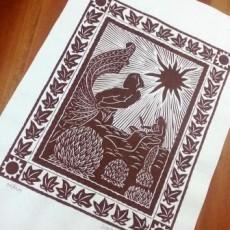「マナ・カード」セラピストのみなさん、毎日カード引いていますか? & 毎年恒例、「ティ栽培」☆彡