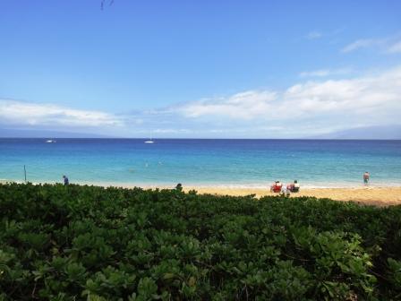 カアナパリの海
