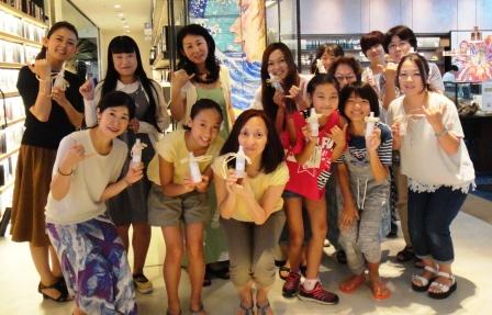 湘南蔦谷書店T-SITE「癒しのハワイ!アロマスプレーを作ろう!」ご参加ありがとうございます☆