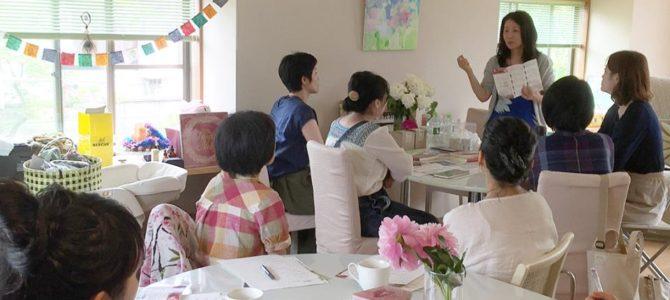 鳥取県米子でマナカード& HRNフラワーエッセンス基礎講座  開講しました!