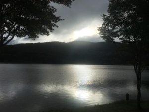 女神湖の朝 - コピー