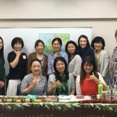 名古屋でHRNフラワーエッセンス基礎講座とハワイ神話講座 & LINE@配信しました☆彡