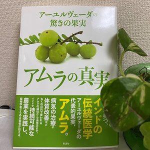 自然療法家のお勧め本11 : 『アーユルヴェーダの驚きの果実 アムラの真実』